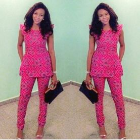 Ankara Trousers For Women AmillionStyles3