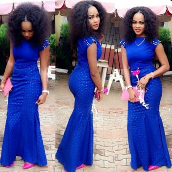 colorful asoebi in lace amillionstyles4