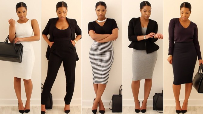work outfit 9to5 amillionstyles