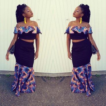 Amazing & Colorful Ankara Outfits 2015 6