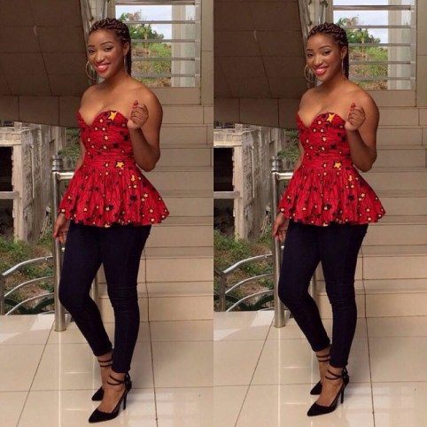 Amazing Ways To Wear Ankara Top Dresses & Look Fab3