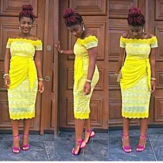 Aso Ebi Styles Over The Weekend @Mobo_Dalk - AmillionStyles