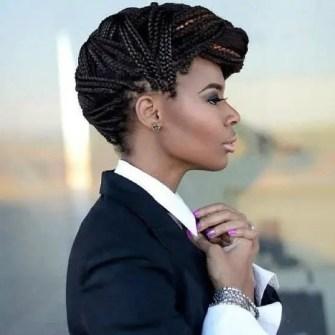 Amazing Hairstyle Mowhawk Braids