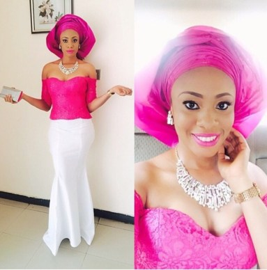 Colorful Asoebi In Lace Lookbook 9 - Amillionstyles3