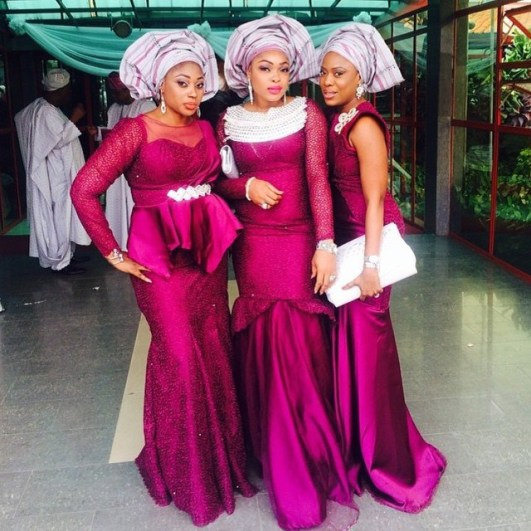 Latest Aso Ebi Styles Lace Inspired lookbook 2 amillionstyles2
