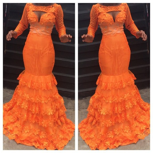 Latest Aso Ebi Styles Lace Inspired lookbook 2 amillionstyles3