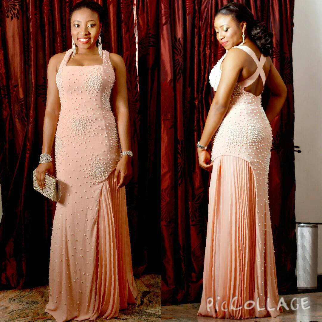 Stunning Dinner Gown From Nigerian Female Celebrities