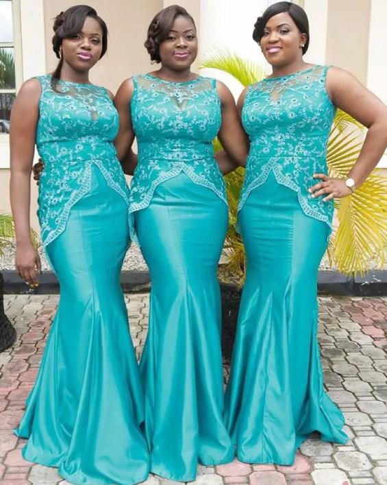 Stunning Bridal Train Outfit amillionstyles.com @houseofborah