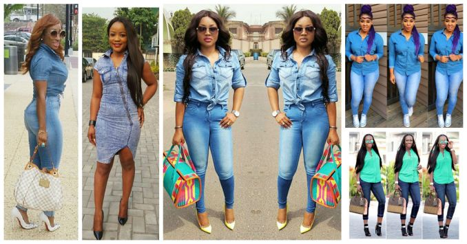 8 Eye Catching Denim Styles Amillionstyles.com crush