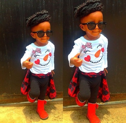 10 Adorable Kids In Their Awesome Outfit amillionstyles.com @naa_the_dondiva