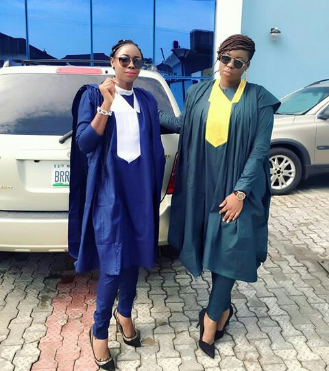 nigerian men and women in agbada styles amillionstyles.com @tarijulia