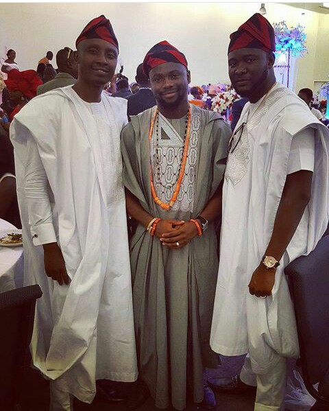 nigerian men and women in agbada styles amillionstyles.com @viocouturehq-