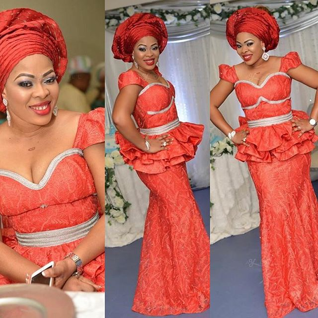 7 Perfect Aso Ebi Styles You Need To CopB Amillionstyles - Ankara Styles
