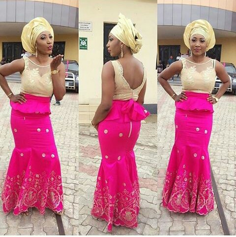 TGIF Aso Ebi Styles You Should Rock amillionstyles @officialanthonet_ine