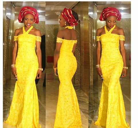 Classy Aso Ebi Styles In Lace Worn Over The Weekend  @tobby_oba