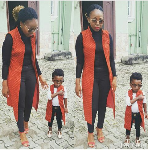 Mum And Daughter Outfits amillionstyles.com @princess_zee0406