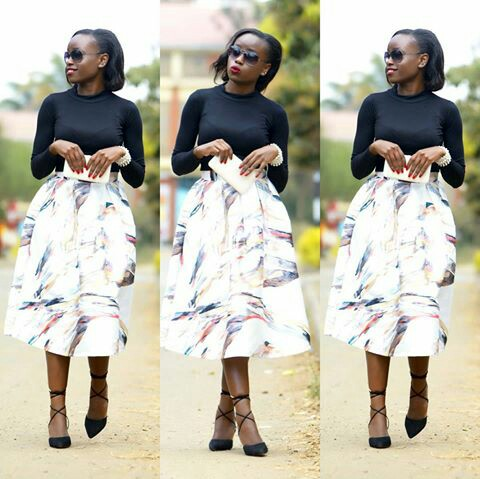 Amazing Polka Dots Prints And Patterned Outfit amillionstyles @lindaotiende
