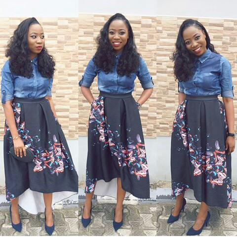 Amazing Polka Dots Prints And Patterned Outfit amillionstyles @ms_yudee