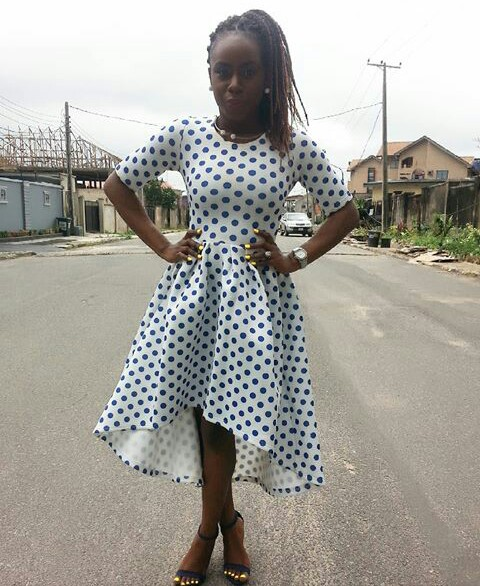 Amazing Polka Dots Prints And Patterned Outfit amillionstyles @stylebybuiti