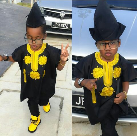 10 Native Outfits For Your Cuties amillionstyles @swagboi_trav12