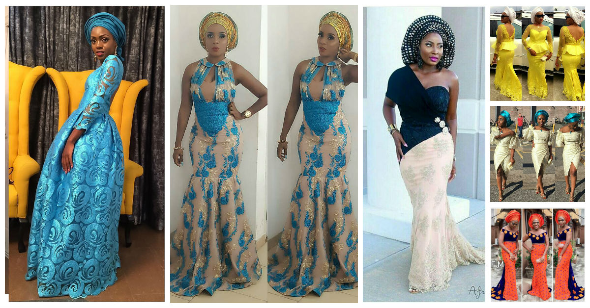 Mouth Watering Trending Asoebi Styles