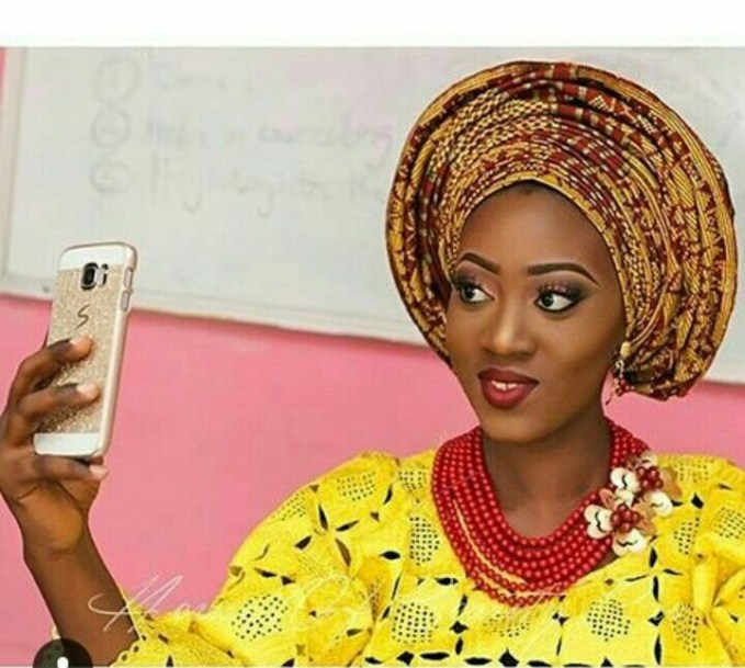 10 Lovely Traditional Bridal Makeup Looks amillionstyles @ms_rubbie