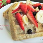 100% Whole Wheat Waffles with No Sugar Added