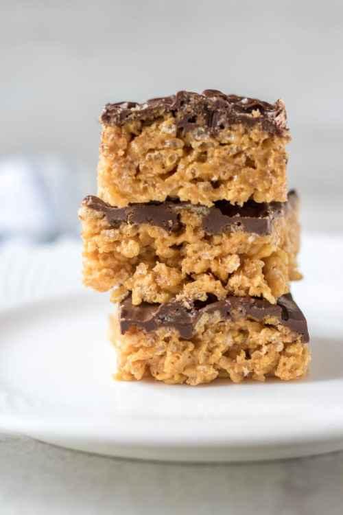 Medium Of Peanut Butter Rice Krispie Bars