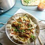 Snow Pea and Chicken Slow Cooker