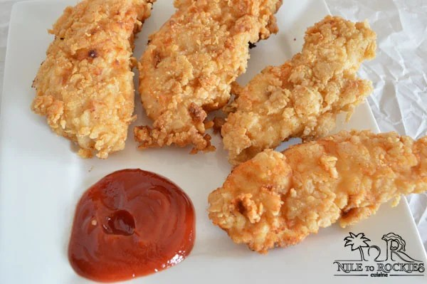 Easy oven fried chicken recipe