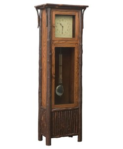 Small Of Grandfather Clock In Living Room