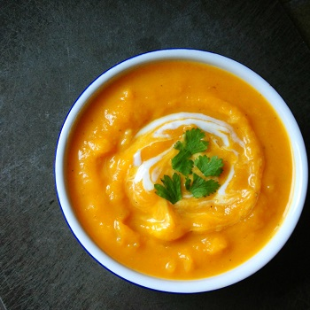 Anti-Inflammatory Roasted Butternut Squash Soup
