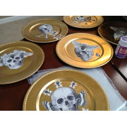 Cordial Start By Cutting Out Your I Always Like To Have Moreimages Than I Will Need Actual Allows Me To Play Andmove Things Halloween Collage Charger Plates A Moment Being