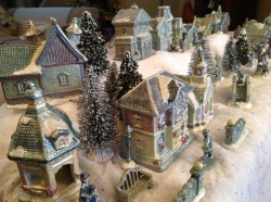 Small Of Christmas Village Sets