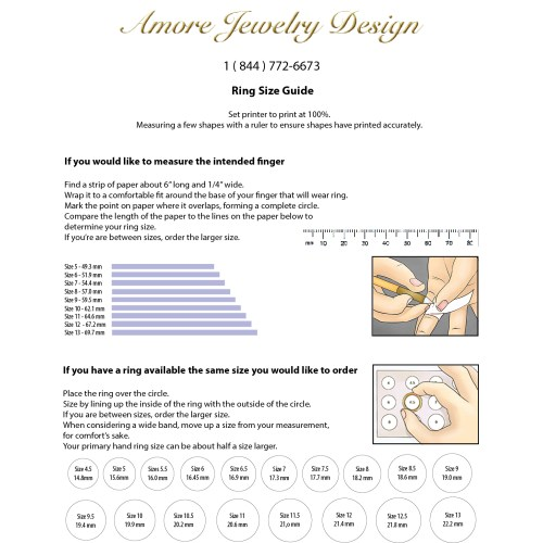 Medium Crop Of How To Measure Ring Size