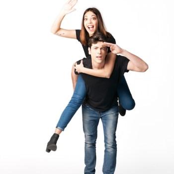 Rebeca y Ángel