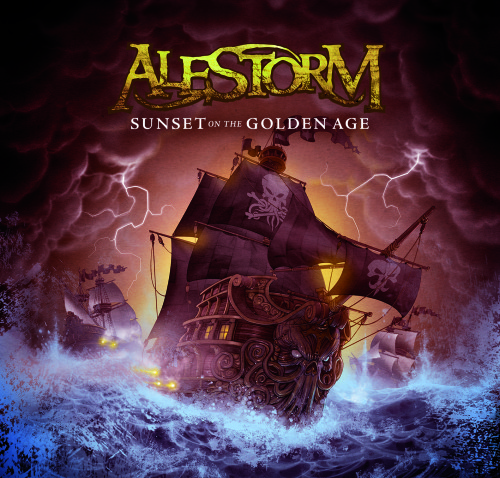 ALESTORM CD COVER