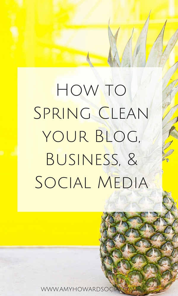 How To Spring Clean Prepossessing With How to Spring Clean your Blog, Business, & Social Media  Amy Howard  Pictures