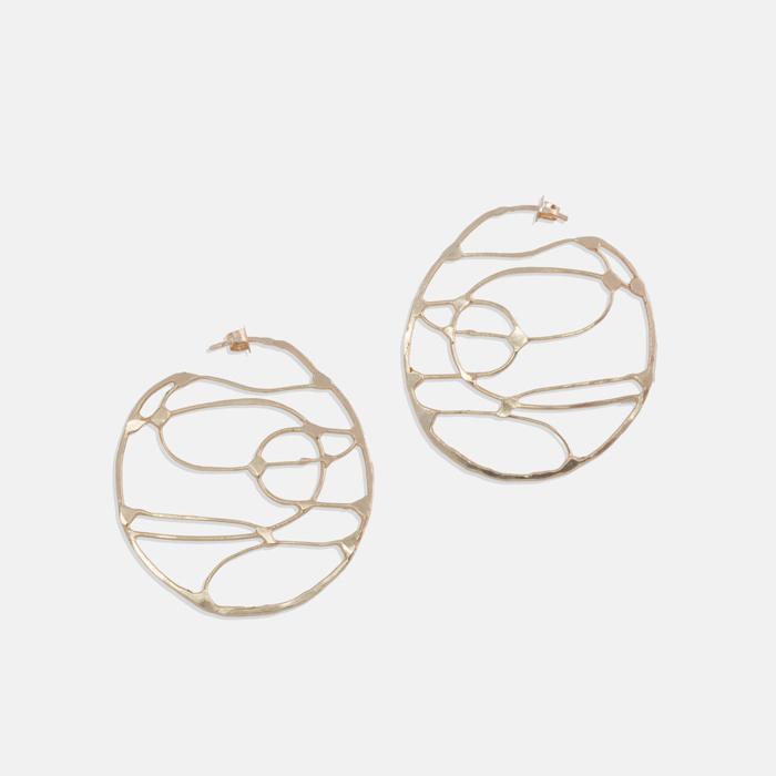 Lattice-Earring