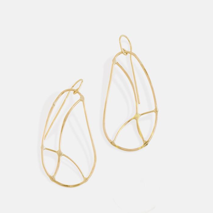Amy Nordstrom - Gold Boheme earrings