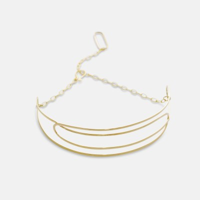 Gold Lattice Choker