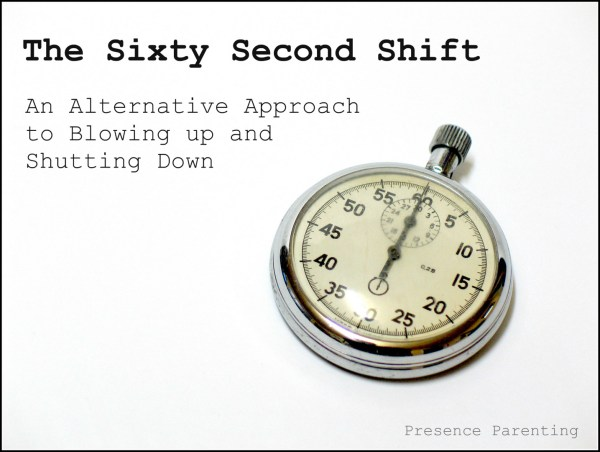 The Sixty Second Shift - An Alternative Approach to Blowing Up and Shutting Down
