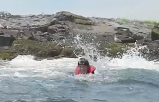 gopro on my head wipeout