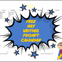 FREE May 2015 Writing Prompt Calendar