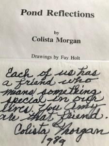 Colista note