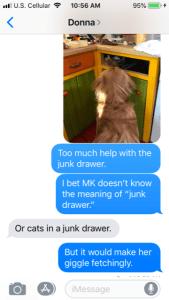 TU pets text