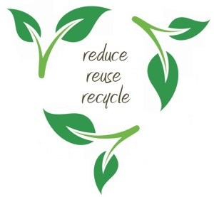 Plastic bags reduce-reuse-recycle-logo