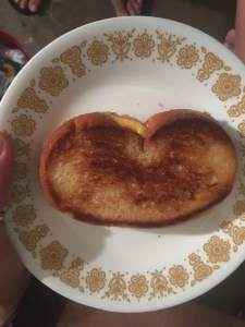 April grilled cheese