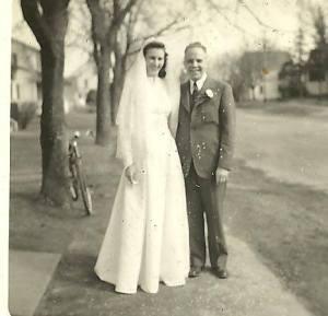 April parents wedding