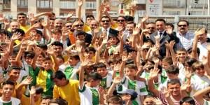 Yaz kurslarından bin 520 çocuk faydalandı